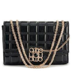 Lattice Chain Shoulder Bag