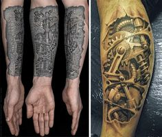 Cogs and Ink: 28 Cool Steampunk Tattoo Designs that Wow | Urbanist