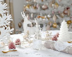 My Christmas dining table by Torie Jayne Christmas Candy, Christmas Themes, Christmas Stuff, Christmas Dining Table, Christmas Inspiration, Enchanted, Projects To Try, Dining Room, Pastel