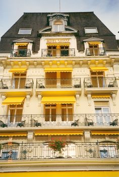 Hotel Suisse - Montreaux, Switzerland. Such a beautiful hotel with a breathtaking view!