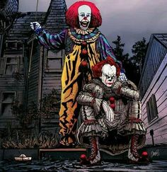 TWICE THE PENNYWISE , AS IF ONE WASN'T ENOUGH .