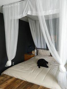Ideas para tener un dosel en el dormitorio DIY