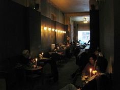 CAFE KULTUR BERLIN: Luzia, Kreuzberg - like the hanging lights and size of the tables