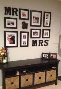 A fantastic gallery wall is a great statement piece for your home decor AND helps fill up an empty wall. In case you need helping designing a gallery wall though, here is some inspiration! Ideias Diy, Diy Décoration, Home And Deco, First Home, My Dream Home, Home Projects, Diy Home Decor, Home Improvement, Sweet Home