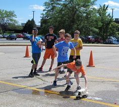 How far will pop propulsion take your skateboard? MCC Tech Camp, Week of June 22-25, 2015 - Science Myth Busters: An Explosive Quest for Truth!