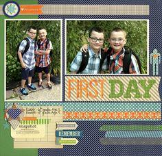 First+Day - Scrapbook.com