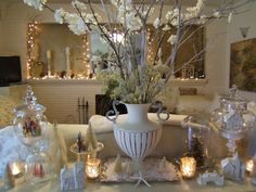 White Bohemian Beauty: Winter White XMas, Ethereal and Natural