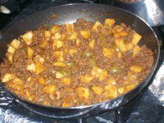 La Cocina De Nathan: Cuban, Spanish, Mexican Cooking & More: Picadillo Salteado Con Papas (Cuban Beef Hash)