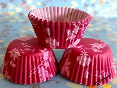 mini baking cups Baking Cups, Kitchen Things, Cherry Blossom, Mini, Desserts, Food, Tailgate Desserts, Deserts, Essen