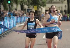 There are lots of different races based on your estimated time so participants will be taking part alongside people of a similar ability.  #WestminsterMile #Running #MayBankHoliday #ThisGirlCan