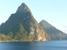 St. Lucia pitons #myshot