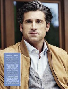 Patrick Dempsey Covers July 2015