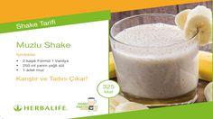 Herbalife Shake Tarifleri / Muzlu Shake