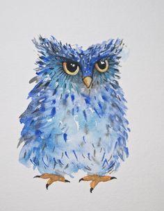 'Blue Owl' (artist unknown)