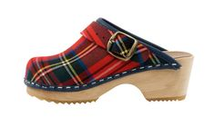 Scottish Tartan - A limited edition of this classic scottish tartan. Uppers are of a fine fabric and an alder wood orthopedic foot base!