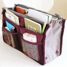 Travel Insert Organiser Large liner Sundries Storage Bag Travel Accessory