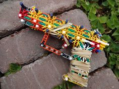 How to build a K'NEX FN Five-Seven. Instructions coming soon!