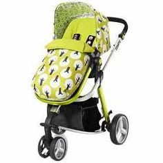 Cossatto giggle compact travel system £399+£93 for car seat