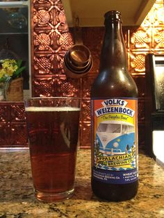 Volks Weizenbock by Appalachian Brewing Company; Harrisburg, PA.