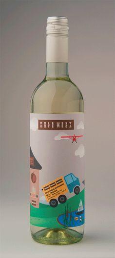 Cool #wine label #design PD