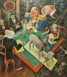 Eclipse of Sun by George Grosz in German Expressionism. Critique of Weimar Germany. Max Beckmann, Max Ernst, Anita Berber, Art Dégénéré, Ludwig Meidner, George Grosz, New Objectivity, Degenerate Art, Dibujo