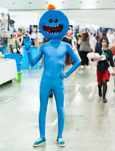 """""""I'm Mr. Meeseeks. Look at me!"""" #Rick_And_Morty"""