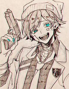Yandere Anime, Manga Anime, Anime Art, Anime Drawing Styles, Manga Drawing, Manga Art, Art Goth, Anime Boy Sketch, Character Art