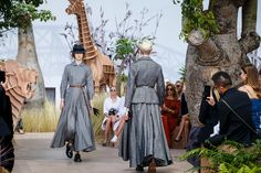 See atmosphere photos from the Christian Dior Fall 2017 Couture fashion show.