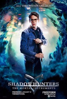 Simon Lewis Shadowhunters TV Poster