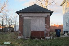This used to be a candy store. Could be a small micro house for an urban dweller...