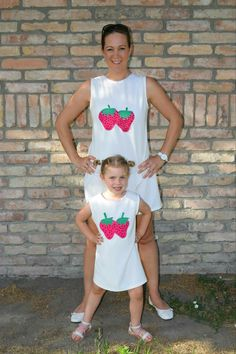 4a92b431f2 A(z) Mother and daughter matching outfits - Tavaszi-nyári anya-lánys ...