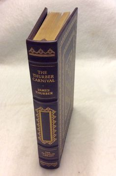 Franklin library limited edition The Thurber Carnival James Thurber 1980 mint by garagesale715 on Etsy