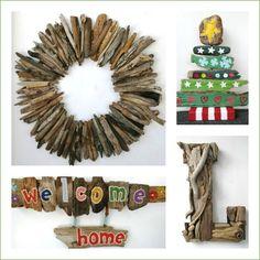Driftwood Decor Handmade USA | Etsy: http://www.completely-coastal.com/2015/11/best-coastal-etsy-handmade-decor-usa.html
