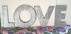 Twisted Twig Sequin Letters