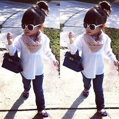 Aww..fashion kid <3