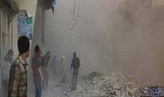 """قصف مُكثّف على طريق الكاستيلو وقوّات الحكومة…: استشهد رجل وطفل في مدينة منبج في ريف حلب الشمالي الشرقي والخاضعة لسيطرة تنظيم """"داعش"""" إثر…"""
