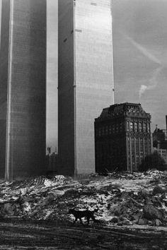 NYC. Twin Towers, 1972 // Pierre de Fenoÿl