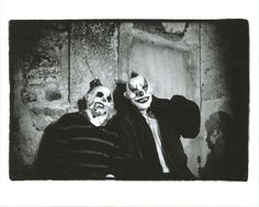 Clowns, photographed by Jessica Lange