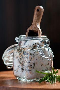 Orange Rosemary infused sea salt