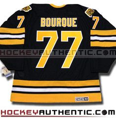 Ray Bourque Boston Bruins 1990 CCM vintage jersey   Hockey Authentic