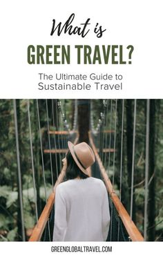 40 Green Travel Tips