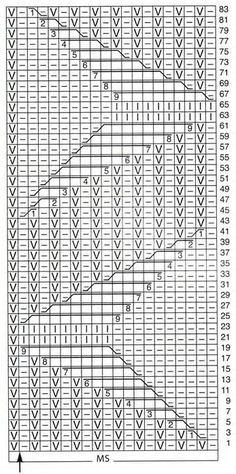 В копилку: 2 патентных узора спицами. Комментарии : LiveInternet - Российский Сервис Онлайн-Дневников