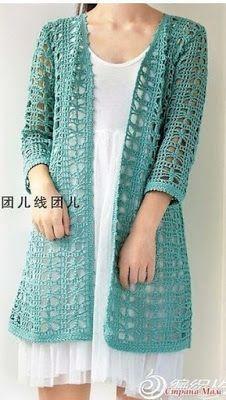 20 Ideas for knitting cardigan pattern crochet shrugs Crochet Jacket Pattern, Gilet Crochet, Crochet Blouse, Crochet Shawl, Free Crochet, Crochet Patterns, Crochet Summer, Crochet Shrugs, Shrug Pattern