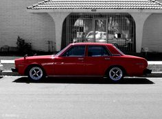 Red Toyota Cressida