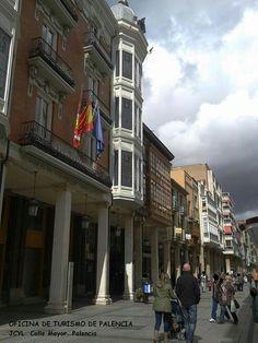 Calle Mayor. Palencia