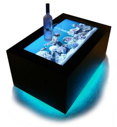 LED Table - Bar Furniture. This is the hotness.