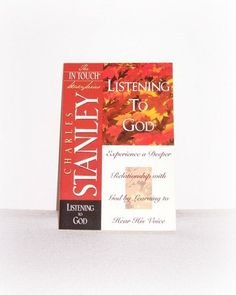 "The In Touch Series ""Listening To God"" In Touch Study Paperback Book Dr. Charles Stanley Christian Study by SheCollectsICreate on Etsy"