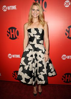 Who: Claire DanesWore: LanvinWhere: Showtime's 2013 Emmy Eve Soiree via StyleList