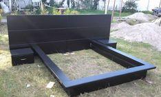 modern beds - B . Wood Bed Design, Bed Frame Design, Diy Bed Frame, Bedroom Bed Design, Bedroom Furniture Design, Modern Bedroom Design, Bed Furniture, Home Decor Furniture, Home Decor Bedroom