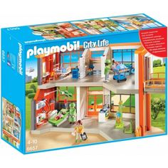 Playmobil Playmobil 6657 Compleet ingericht kinderziekenhuis